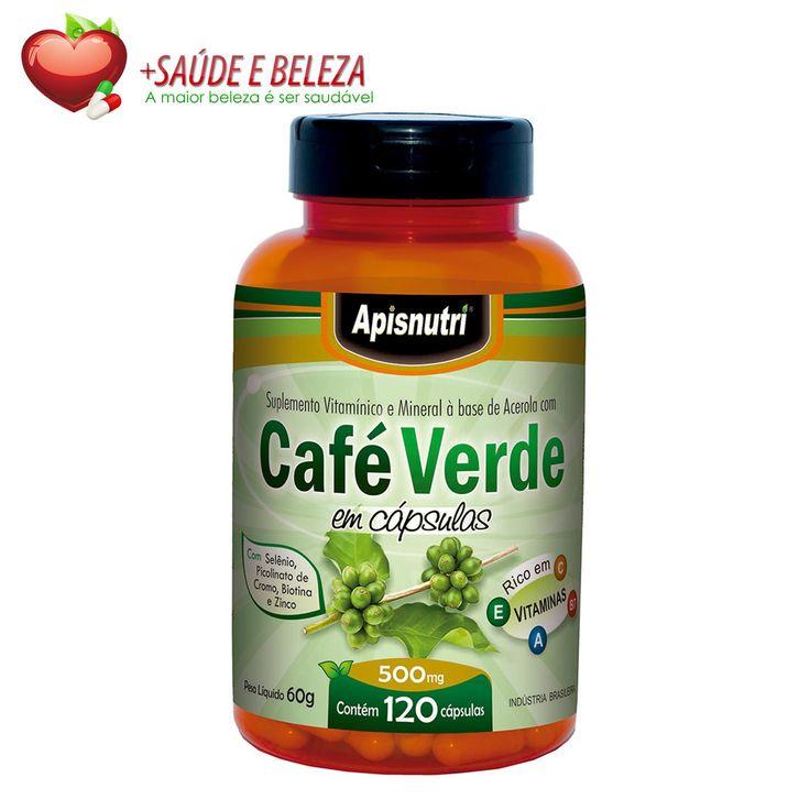 O Café Verde Apisnutri ajuda a proteger o figado do acumulo de açúcar, e ajuda também a diminuir a absorção de glicose pelos intestinos, Devido níveis maiores de cafeina serem encontrado no Café Verde, ela atua como um termogênico natural, estimulando o metabolismo e favorecendo a perda de peso. http://www.maissaudeebeleza.com.br/p/374/cafe-verde-apisnutri-500mg-c120-capsulas?utm_source=pinterest&utm_medium=link&utm_campaign=Cafe+Verde&utm_content=post