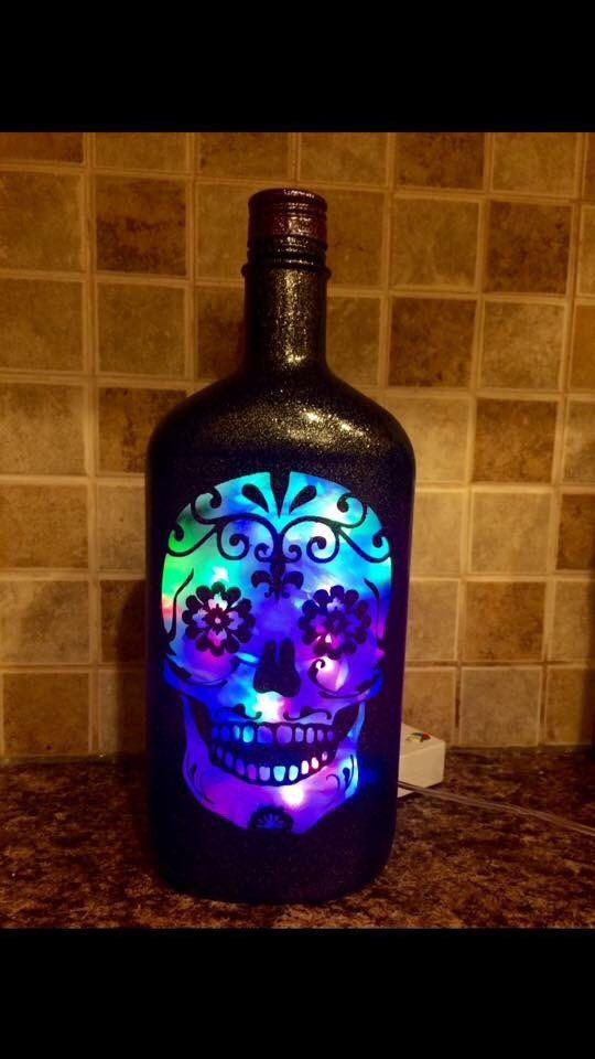 159 best Liquor Bottle Lampscrafts images on