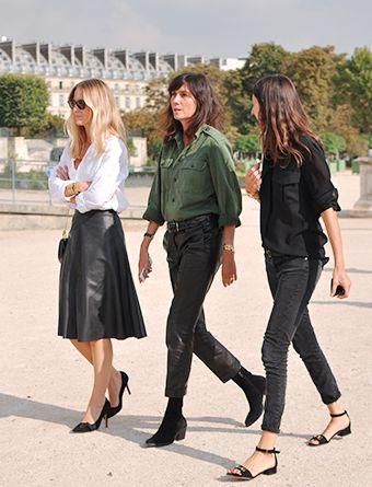 Vogue Paris ~ Emmanuelle Alt, Géraldine Saglio and Jennifer Neyt