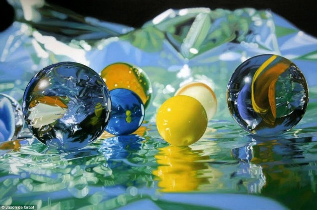 Realistic Paintings by Jason de Graaf take Art to the next level