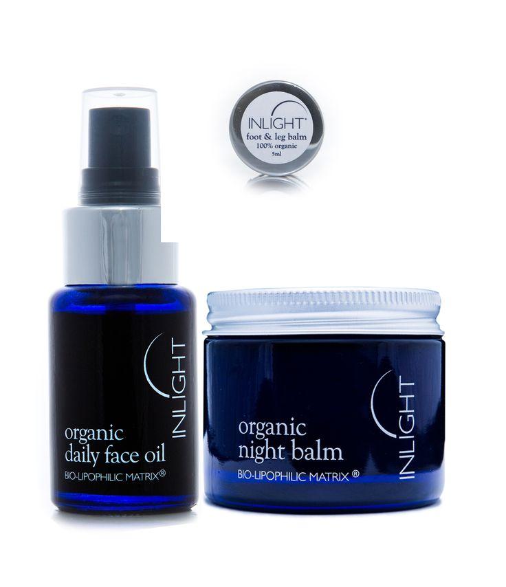 E-shop - Péče o obličej - Bio denní olej na obličej 30ml + Bio noční balzám 60ml…