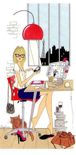"""J'adore me renseigner sur internet sur les bons plans du moment, je les sélectionne et je les partage sur le site et les réseaux sociaux du Citadingue. Depuis mon surnom est Madame """"Bons Plans"""" puisque je suis celle qui est au courant de (presque) tous les événements de la ville !"""