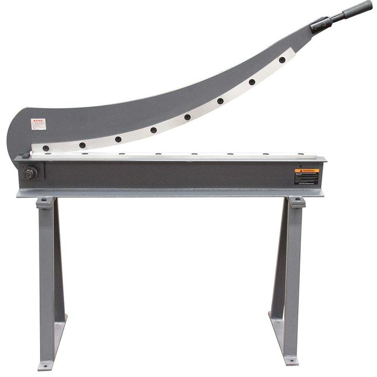 KAKA Guillotine Shear HS-1000 Gauge Sheet Metal Fabrication Plate Cutting Cutter