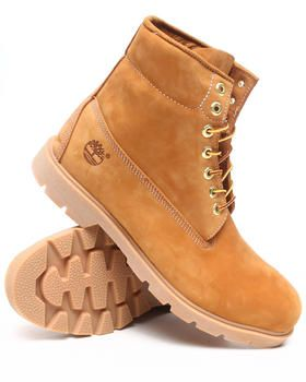 """Buy WHEAT NUBUCK 6"""" BASIC BOOTS Men's Footwear from Timberland. Find Timberland fashions & more at DrJays.com"""