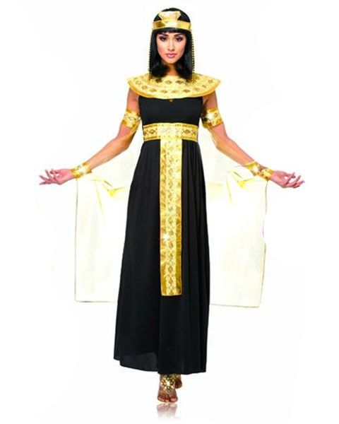 $36.54 WOMEN'S QUEEN OF THE NILE COSTUME.  After reading a book about her recently this might be the choice......hmmmmm