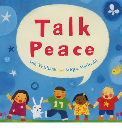 The importance of peace around the world is touchingly observed in the paperback of this timely and poetic picture book.