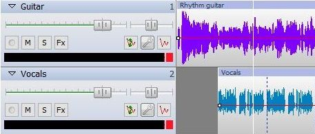 how to change the gain in nch audio editor
