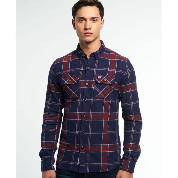 john-andy.com | Superdry Refined Lumberjack πουκάμισο