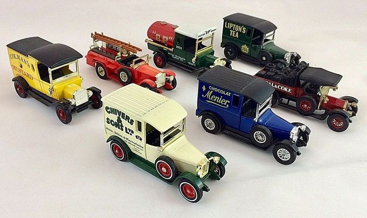 Matchbox Yesteryear Vintage Toy Van & Truck Collection of Seven - 1970's #Matchbox #MixedCollection