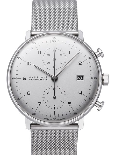 Junghans Max Bill Chronoscope - 027/4003.44
