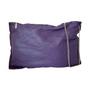 Studio Kropki3 - purple clutch purse PARIS - PolscyProjektanci.com