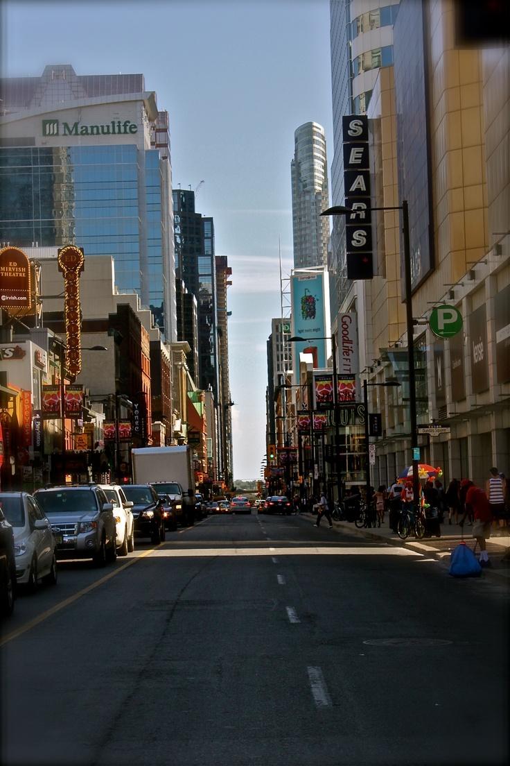 Street in Downtown Toronto