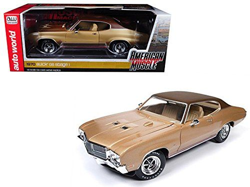 AMM1105 1970 Buick Skylark GS Gold Hemmings Muscle Machines Limited Edition
