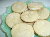 Lemon Sandwich Cookies
