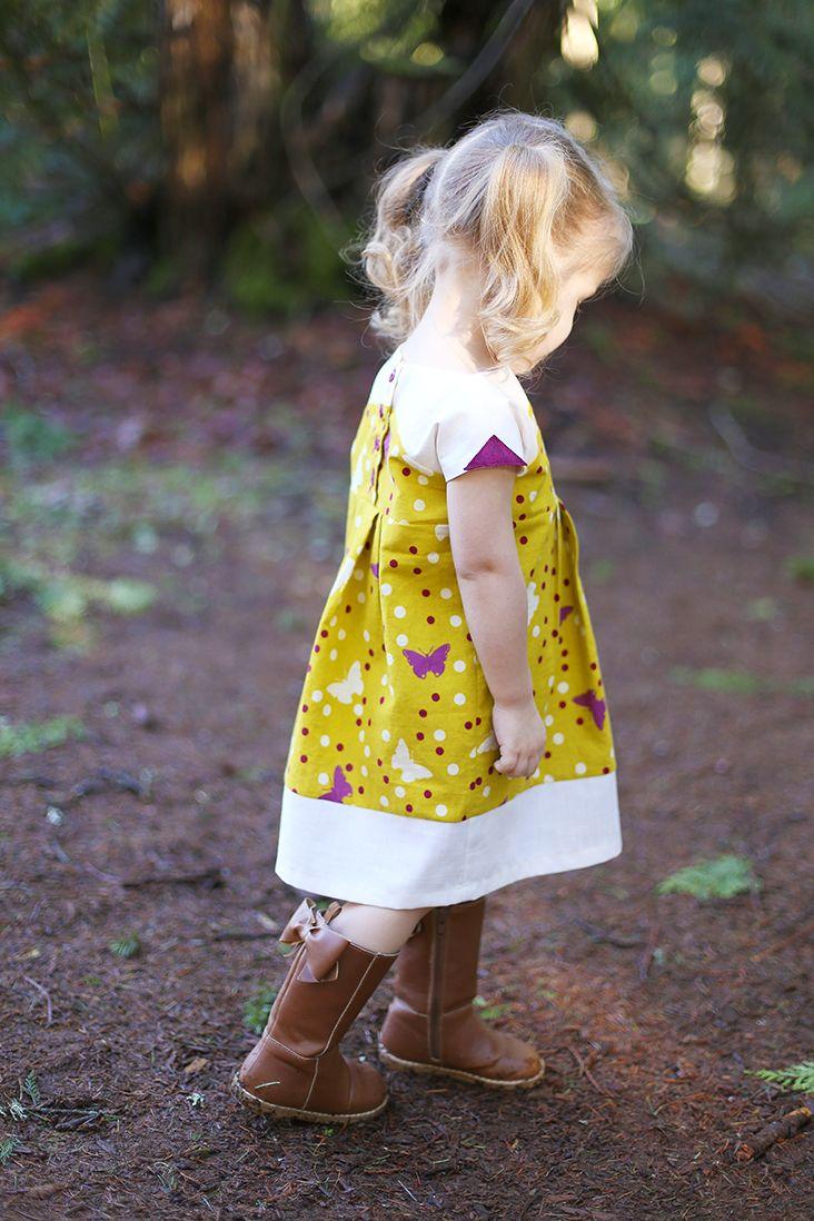 maggie mae dress #sewing #sewingtutorial #sewingpattern #sewmuchado #diy #dresspattern #girlsdresspattern #shwinandshwin #maggiemae