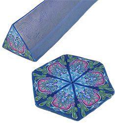 Kaleidoscope canes - Dede Leupold's polymer process.