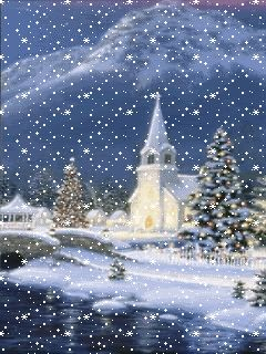 animatede gif christmas scenes | Christmas Scenes Screensavers