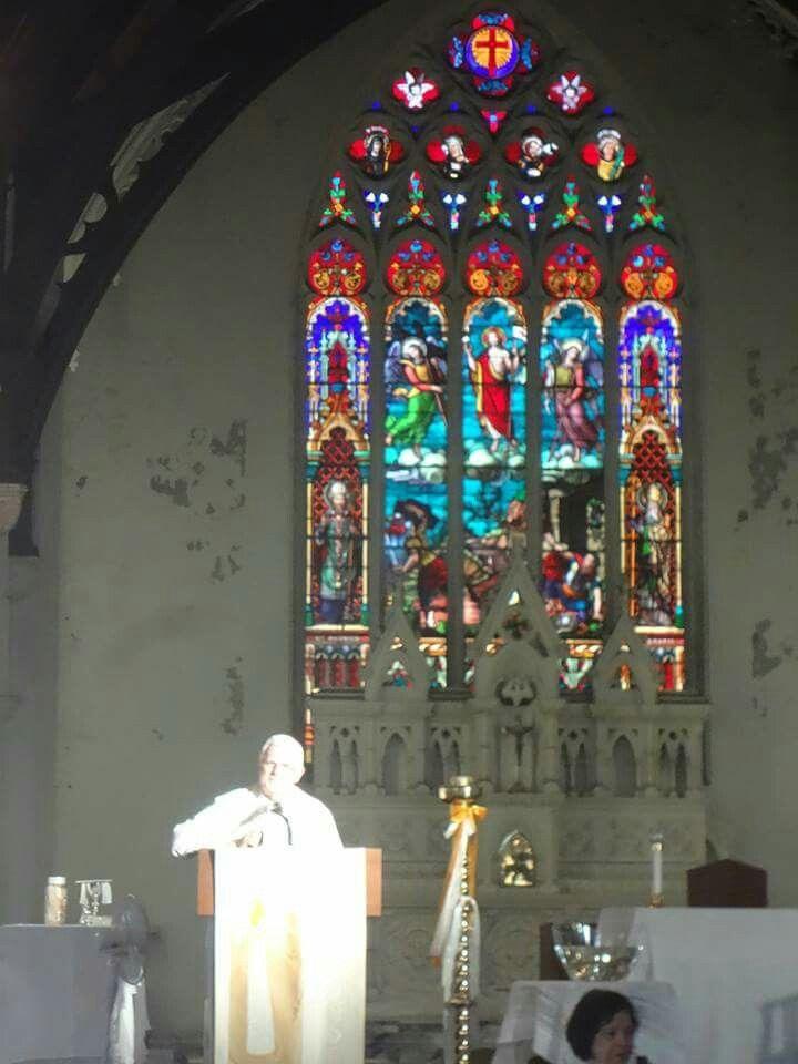 Missa da Pascoa.