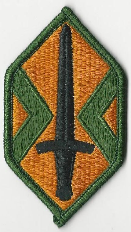 US ARMY PATCH - MILITARY POLICE COMMAND, PANAMA
