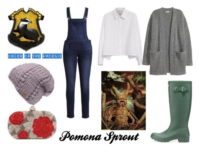 """""""Pomona Sprout"""" by marauderslife on Polyvore featuring Cheap Monday, Y's by Yohji Yamamoto, Kofta, The North Face, Hunter and Santi"""