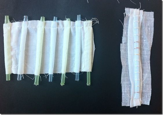 Fabric manipulation swatches