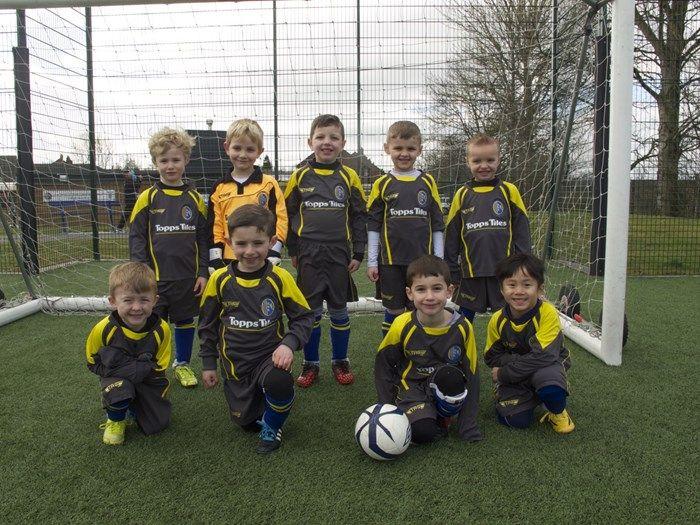 Reddish North End Juniors team shot