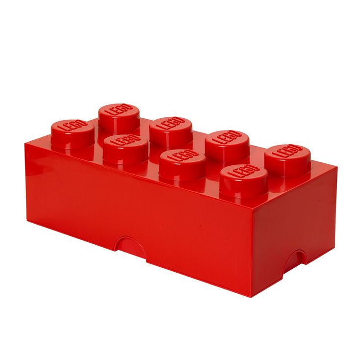 Lego Storage Brick 8 Bright