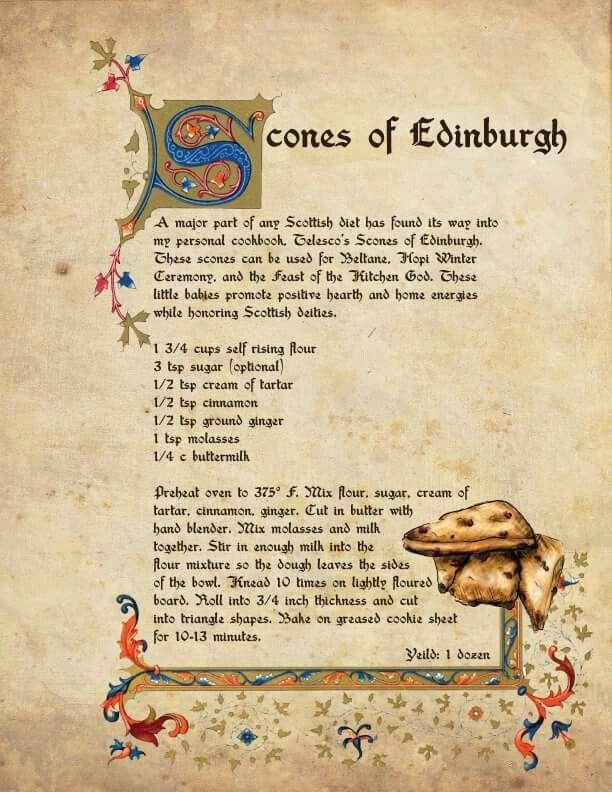 Into scones