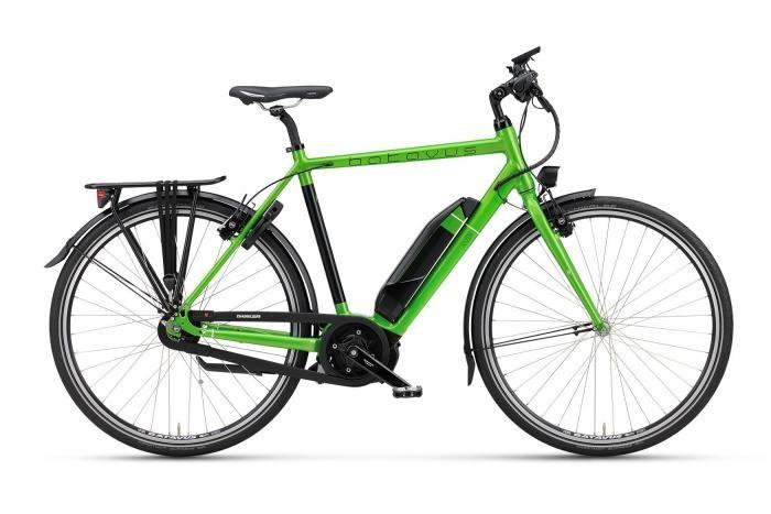 Razer   Batavus 2016 Green - Efficient and quick ebike
