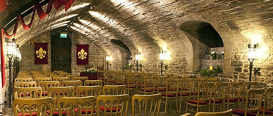 The Undercroft at Cardiff Castle £900 Venue Hire - up to 100 people