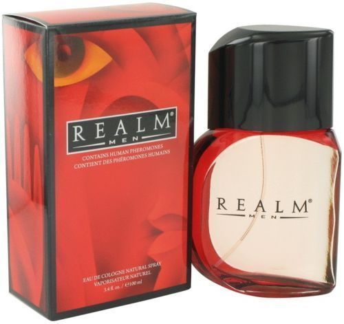 Realm Cologne By Erox Men Perfume Scent Eau De Toilette Spray 3.4 oz 100 ml New