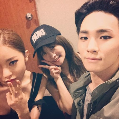 Nicole Jung and Key