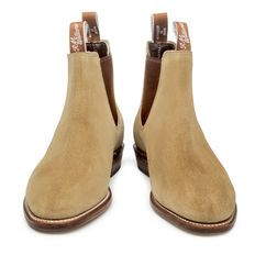 Womens RM Willaims Adelaide boot is suede Sand