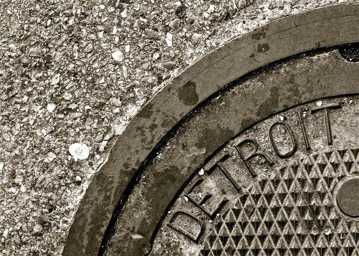 Detroit Photograph Urban Street Black and White Detroit ...