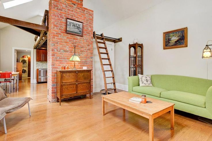 Pure Honey - A small, restored home with loft made from reclaimed wood in Columbus, Ohio ~ click on photo for more ~