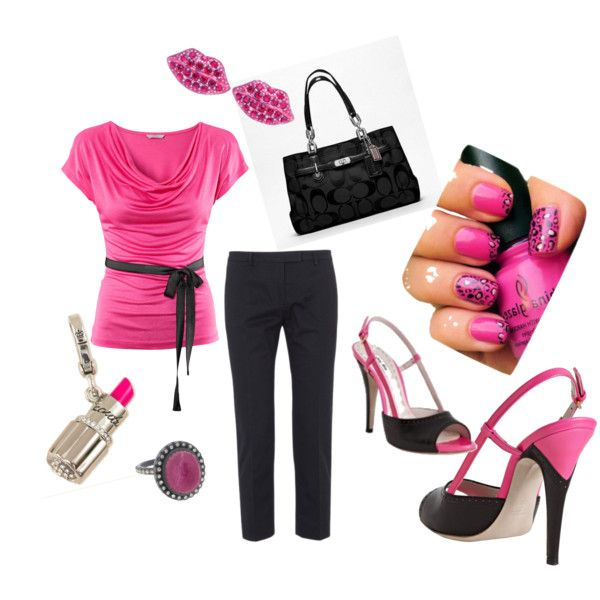 Ladies Night Out, created by fallingupward on Polyvore
