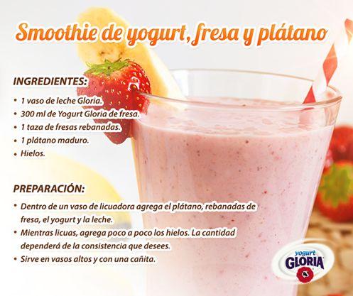 33 best images about recetas con yogurt gloria on - Como hacer mousse de yogurt ...