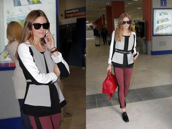 Olivia Palermo no se quita la chaqueta de Adolfo Domínguez #itgirl #celebrities #oliviapalermo #adolfodominguez #trends #fashion #moda #tendencias
