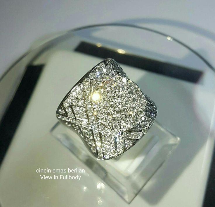 New Arrival🗼. Cincin Emas Berlian Full in body💍.   🏪Toko Perhiasan Emas Berlian-Ammad 📲+6282113309088/5C50359F Cp.Antrika👩.  https://m.facebook.com/home.php #investasi#diomond#gold#beauty#fashion#elegant#musthave#tokoperhiasanemasberlian