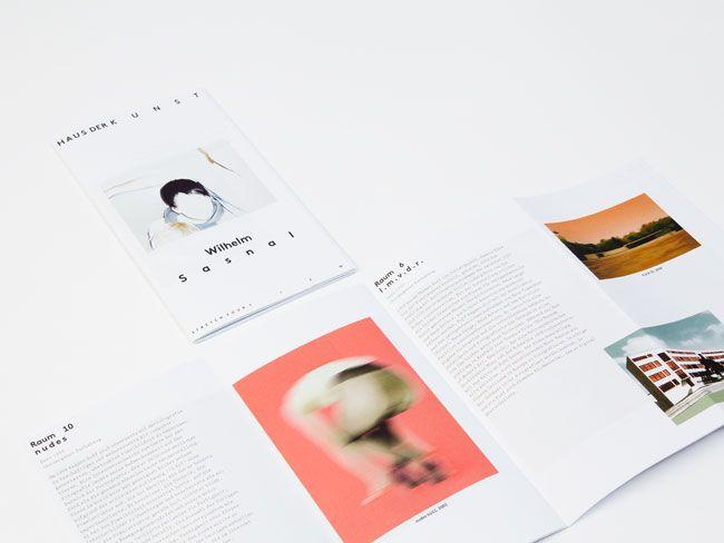 Haus der Kunst Brand Identity by base design