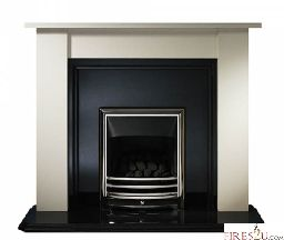 FIRES2U are now selling  Gallery Fireplaces Longford fire surround only which comes in Cotswold jura stone finish (please note the image shows the product with granite hearth and back panel and gas fire that is not included in this price). The price iof this surround is £299!