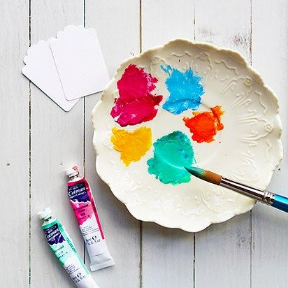 Watercolor Gift Tags | 17 Easy DIY Art Projects You Can Make With Watercolors