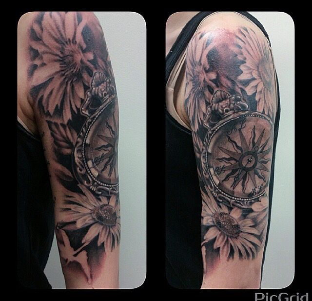 120 best tattoos daisies images on pinterest daisies for Daisy of love tattoo sleeve