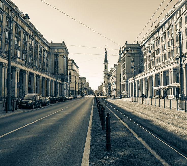 Marszałkowska Street, Warsaw, Poland