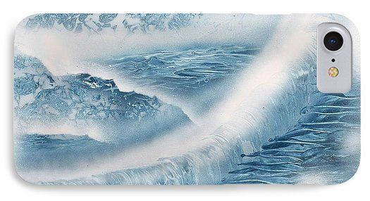 Printed with Fine Art spray painting image Waterfall From Heaven by Nandor Molnar (When you visit the Shop, change the orientation, background color and image size as you wish)