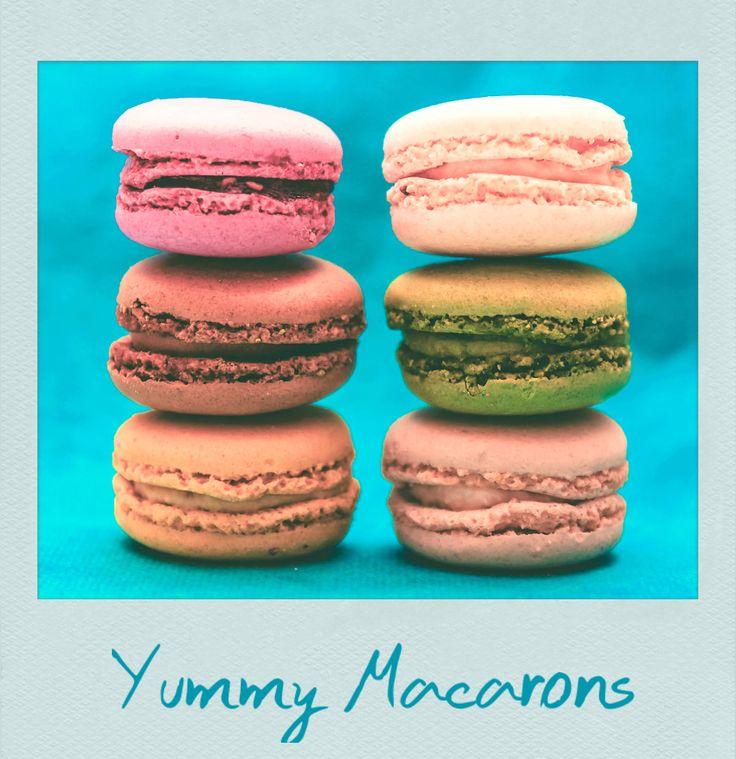 #Yummy #Macarons! #Polaroid #PolaroidFx #Frame #Filter #France #Paris #Breakfast #Snack #Homemade #Coffee #Sweet #Sugar #Food