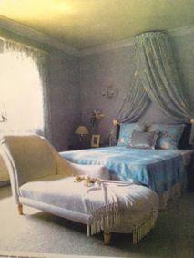 #SevimliMimarlik in #MarieClaireMaison #Turkey 1998. Master bedroom #erolsevimlisoy #emrahsevimlisoy #lilac #light #english #style #design #interiors