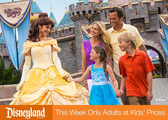 Disneyland-adults at kids prices!!