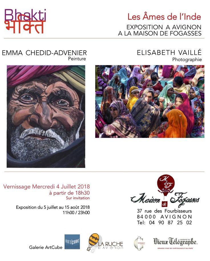 Vernissage Bhakti à la Maison de Fogass\u2026 Maison de Fogasses