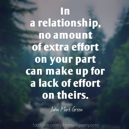 quotes about effort in a relationship
